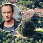 Cantor Sting já produz azeite virgem extra sob o sol da Toscana