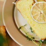 Bolo de limão e azeite